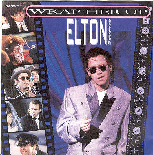 Elton John - Wrap Her Up LP