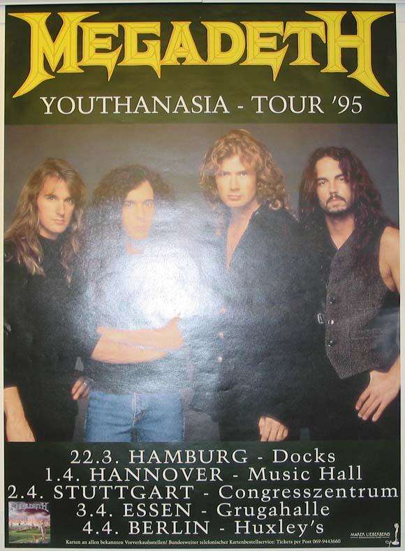 Megadeth - Youthanasia Tour