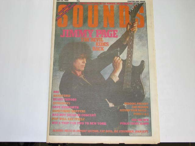 Uk Sounds Magazine 23.07.88