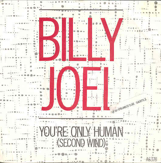 Billy Joel - You're Only Human LP