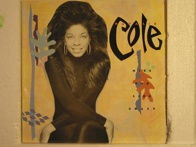 Natalie Cole - Miss You Like Crazy Vinyl