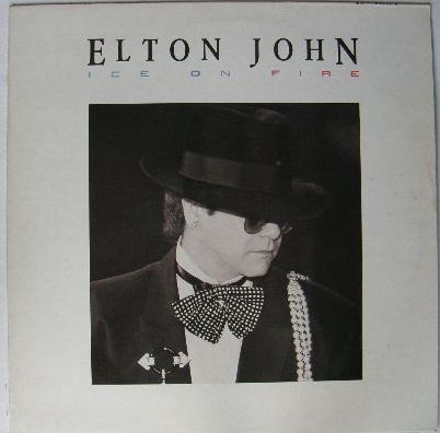 Elton John - Ice On Fire LP