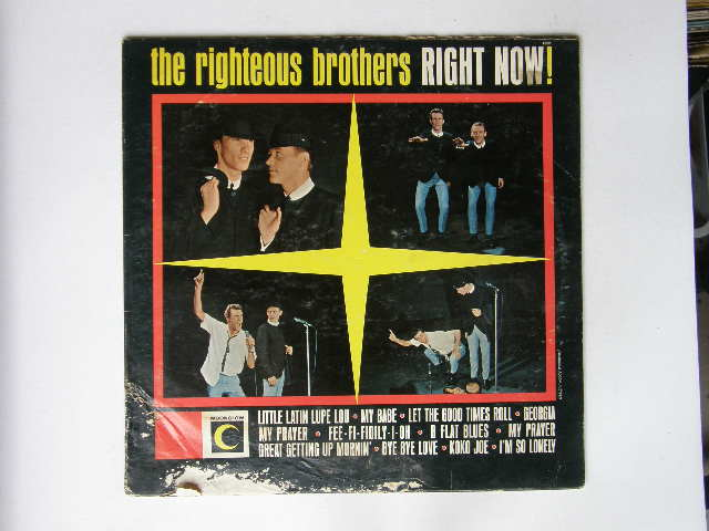 Righteous Brothers Right Now Records Lps Vinyl And Cds