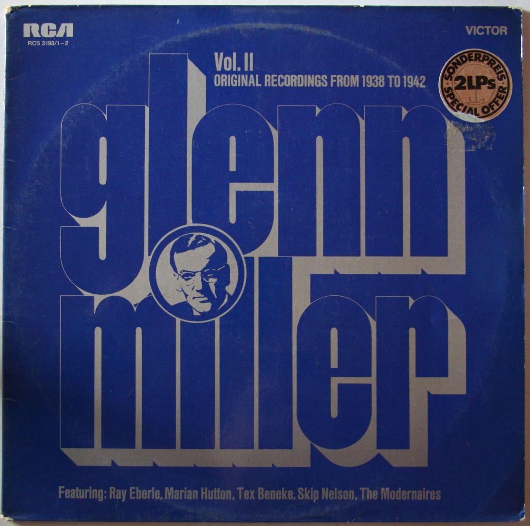 Glenn Miller Orchestra - Vol ii - Orig  Recordings From 1938 To 1942Glenn Miller Orchestra 1938