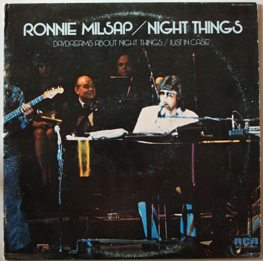 Ronnie Milsap Night Things Records Lps Vinyl And Cds