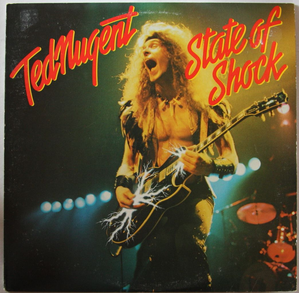 Ted Nugent State Of Shock Records Vinyl And Cds Hard To