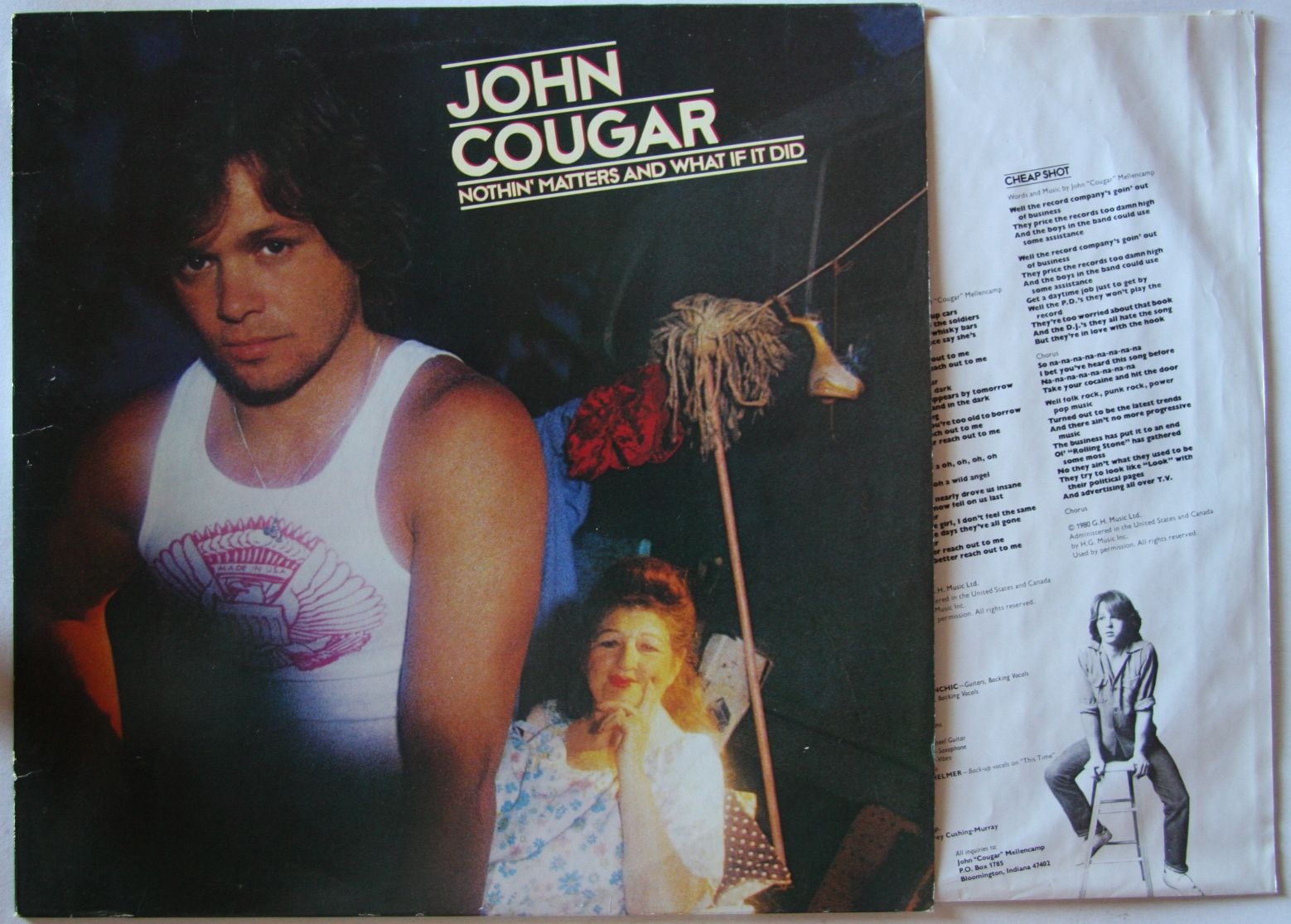 John Cougar - Nothin' Matters And What If I Do