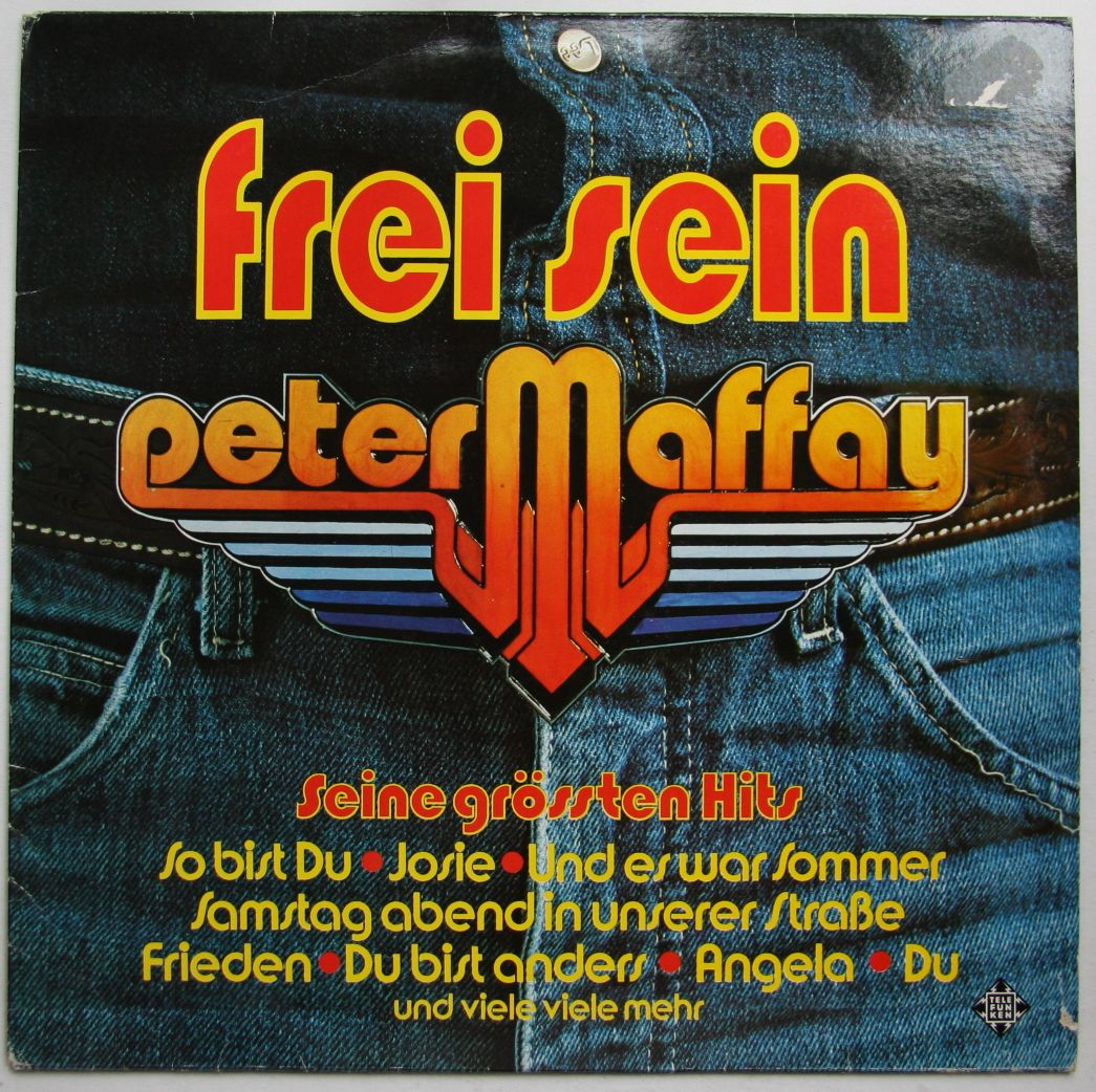 Peter Maffay Frei Sein Seine Gr 246 223 Ten Hits Records Lps