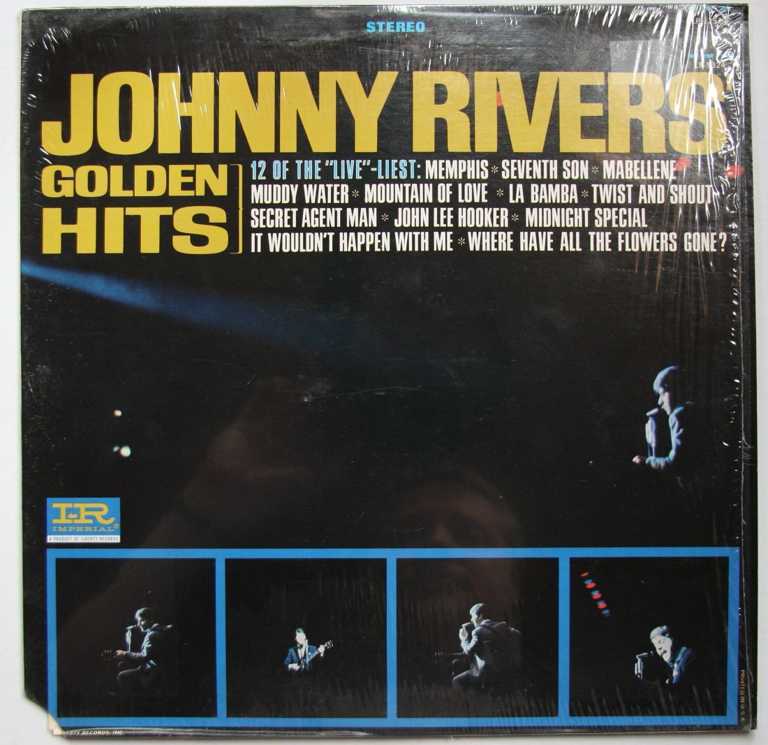 Johnny Rivers Golden Hits Records Lps Vinyl And Cds