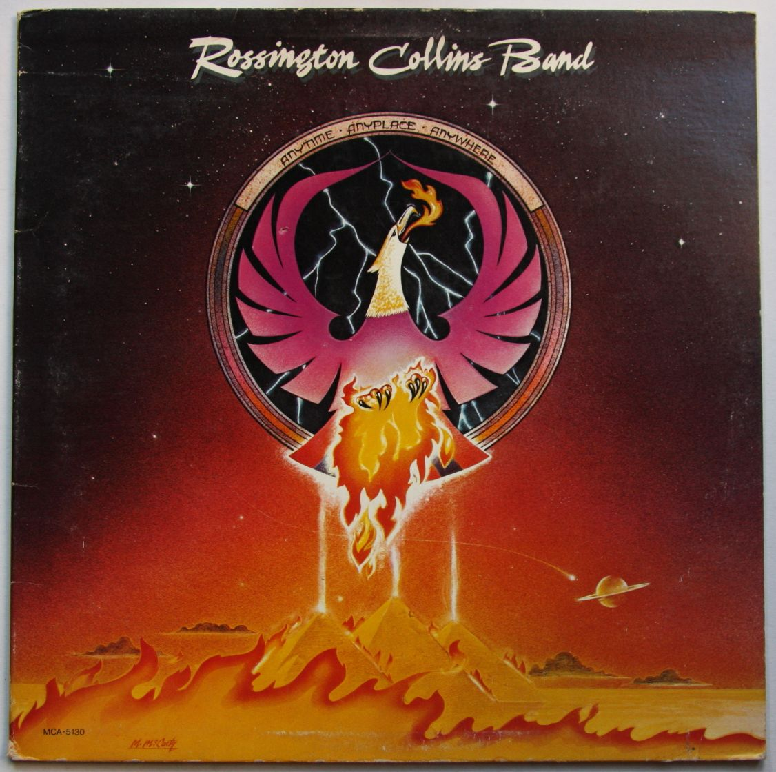Rossington Collins Band Anytime Anyplace Anywhere Records