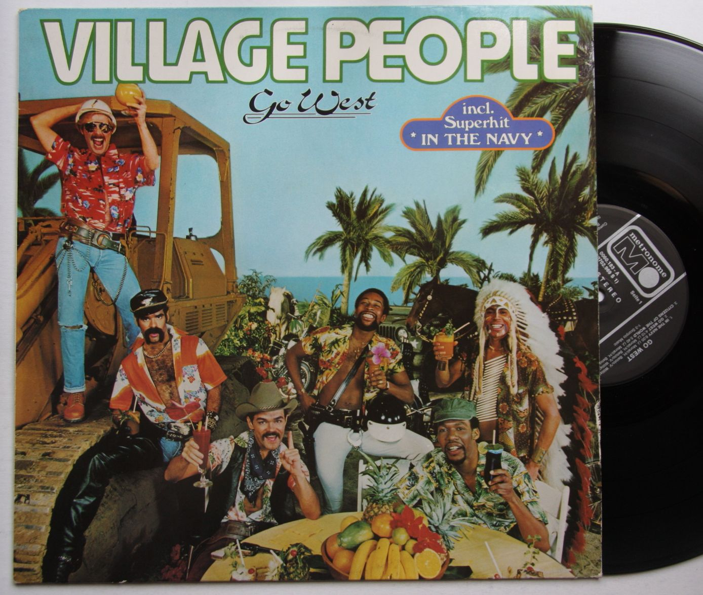 village people in the navy