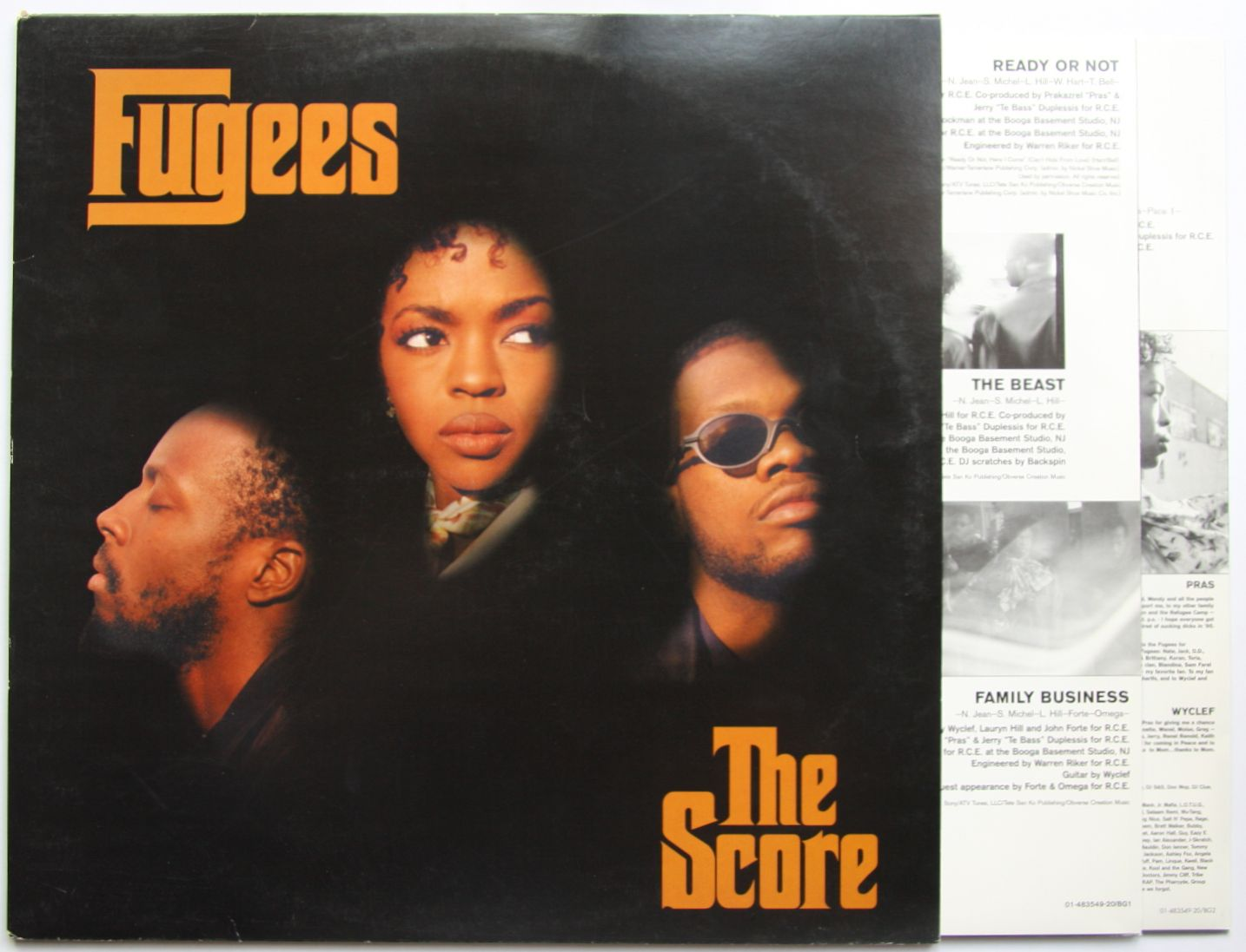 Fugees The Score Records Vinyl And Cds Hard To Find And