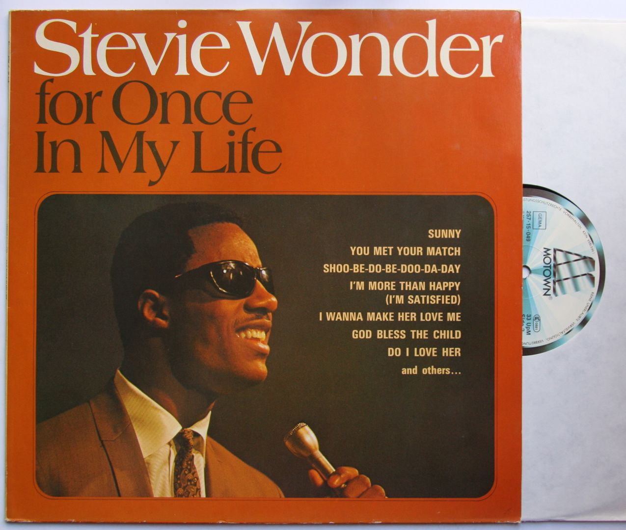 Stevie Wonder For Once In My Life Records Vinyl And Cds