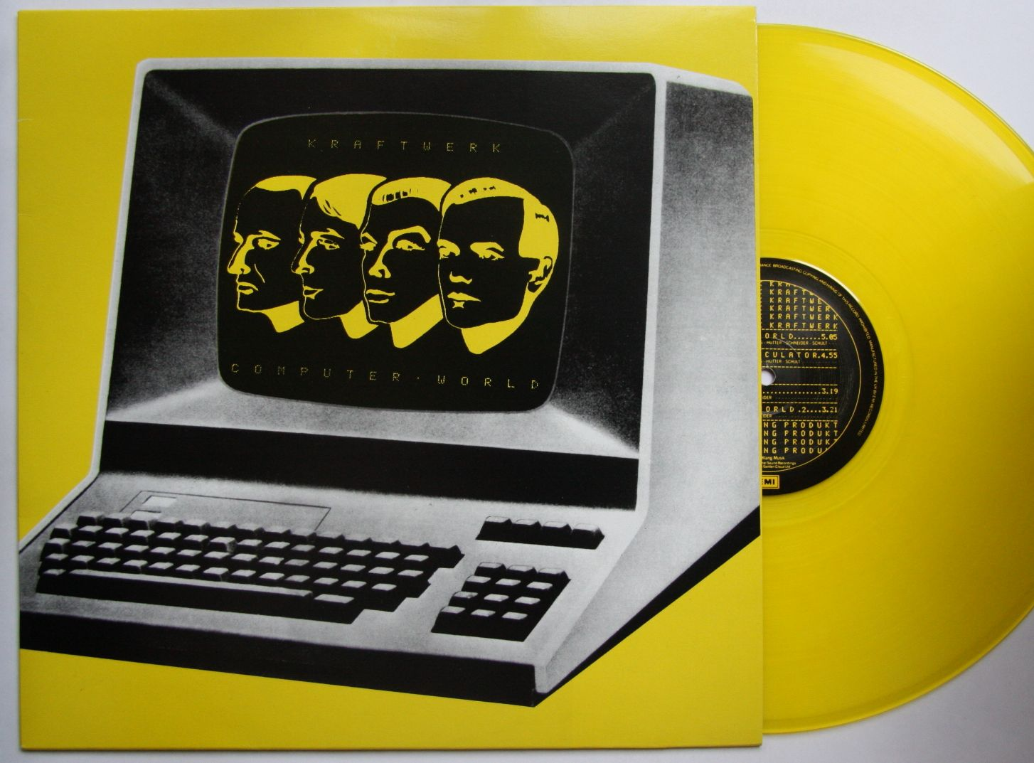 Kraftwerk - Computer World Single