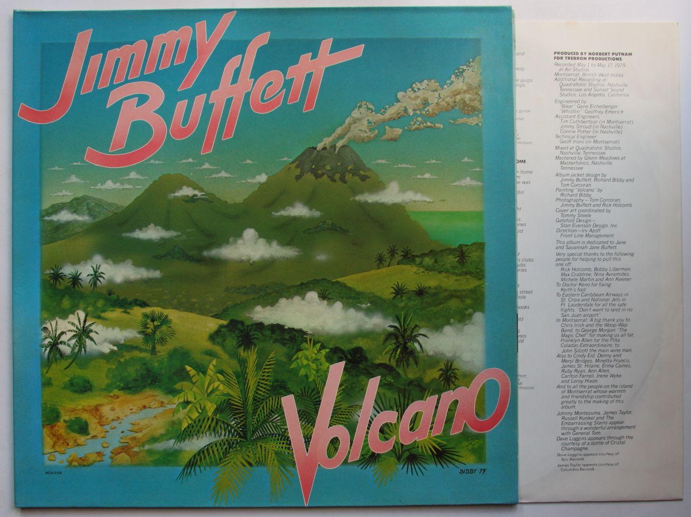 Jimmy Buffett - Volcano Vinyl