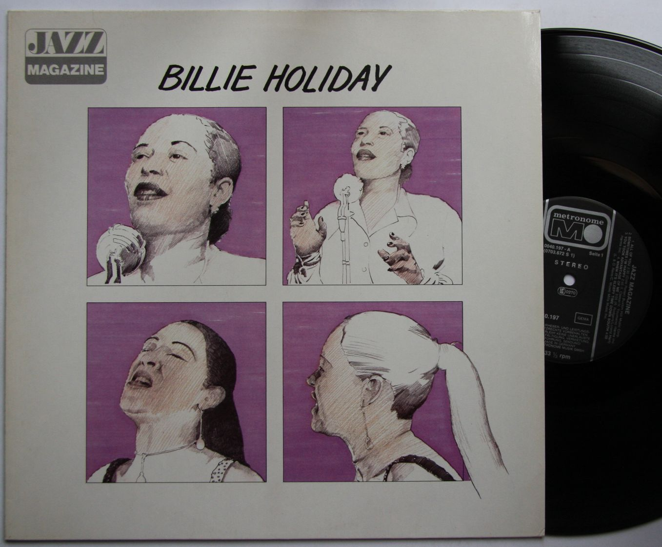 Billie Holiday - Jazz Magazine