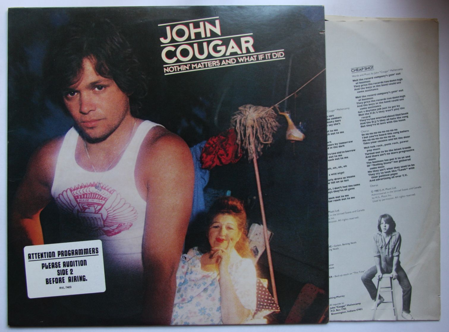 John Cougar - Nothing Matters And What If It Did