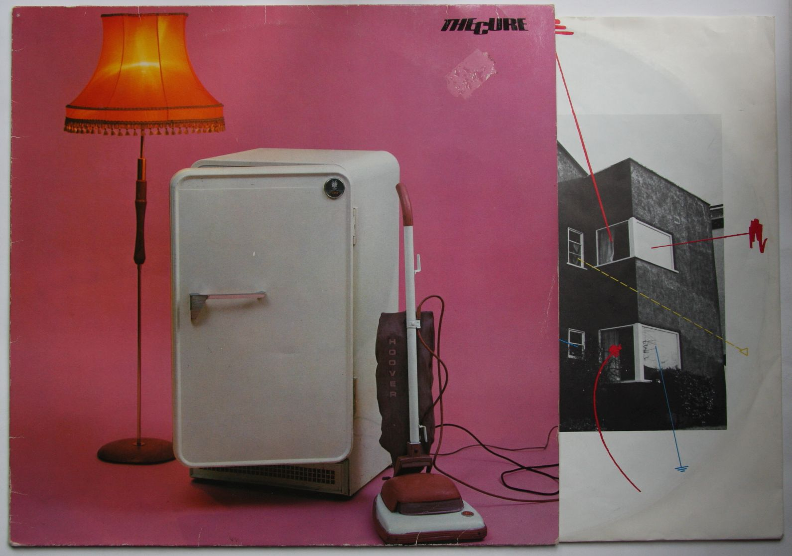 Cure Three Imaginary Boys Records Vinyl And Cds Hard To