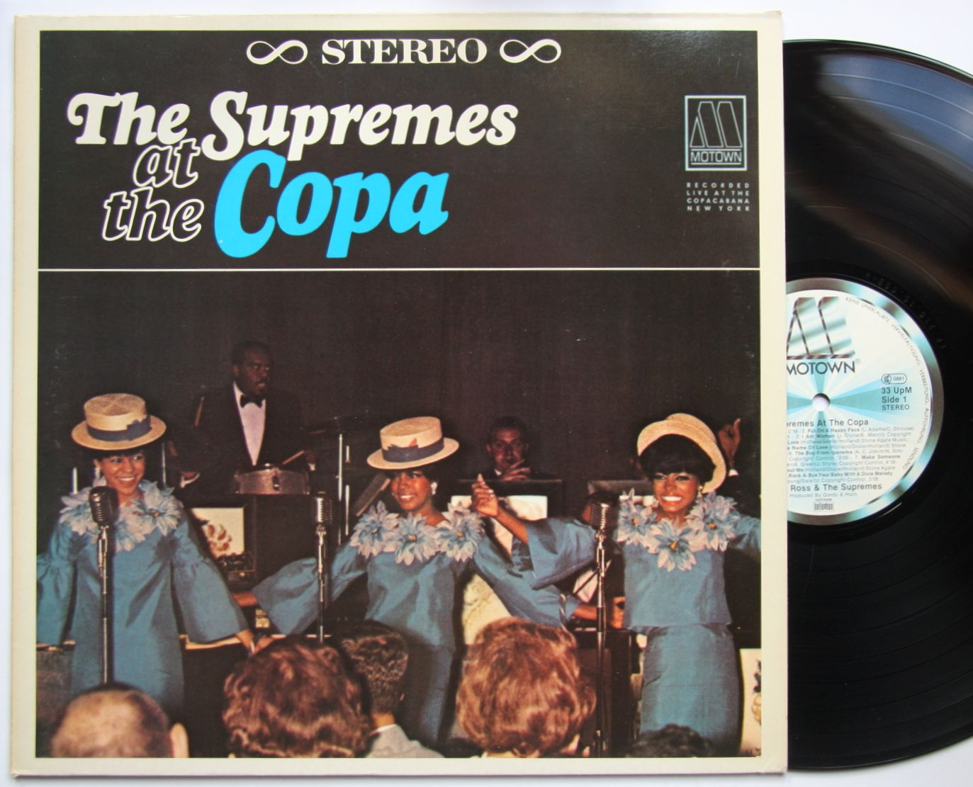 Supremes At The Copa Records Lps Vinyl And Cds Musicstack