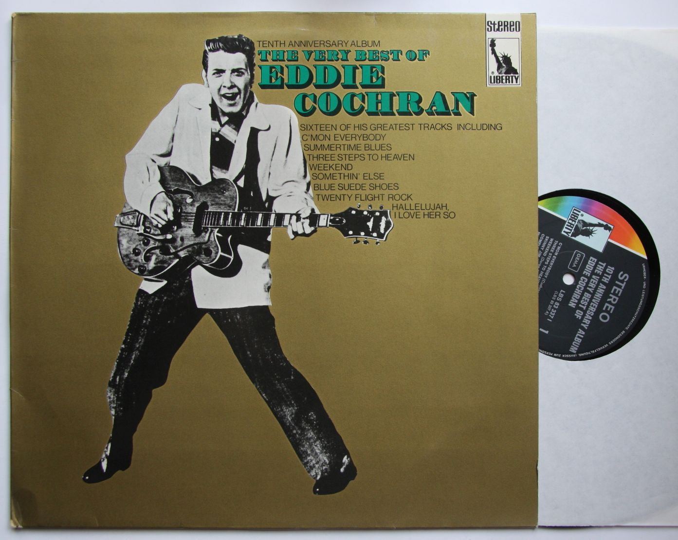 Eddie Cochran The Very Best Of Eddie Cochran Records