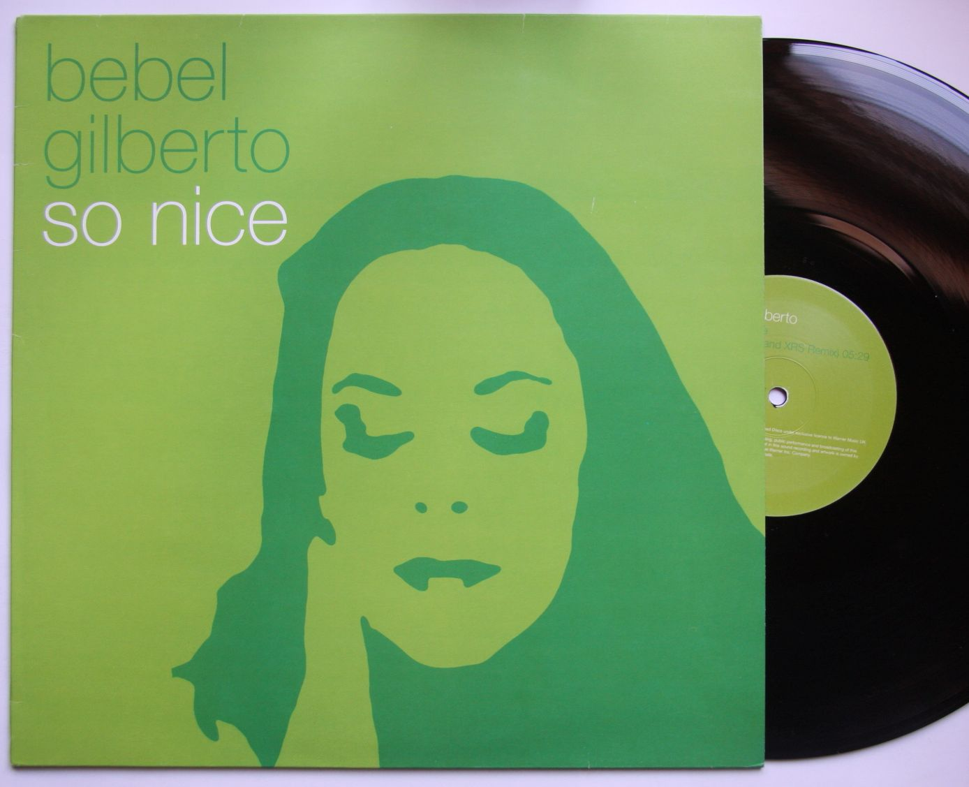 Bebel gilberto so nice records lps vinyl and cds for So nice images
