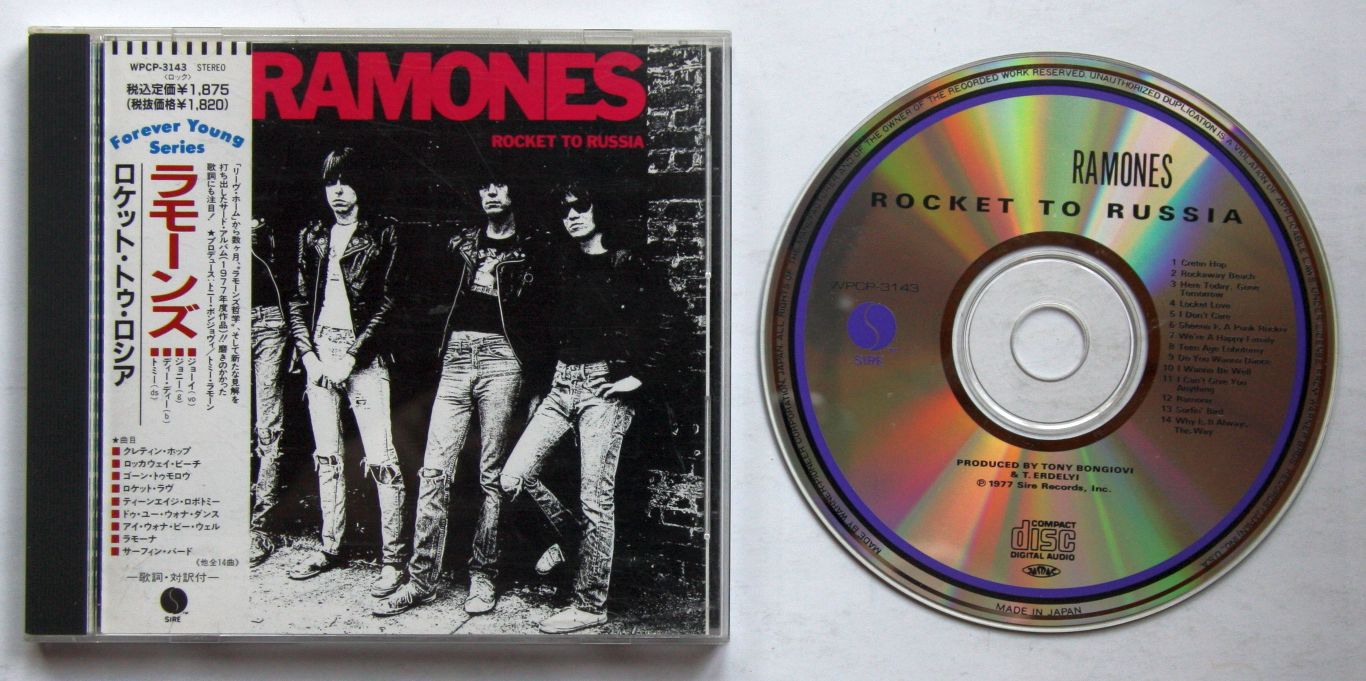Ramones Rocket To Russia Records Lps Vinyl And Cds