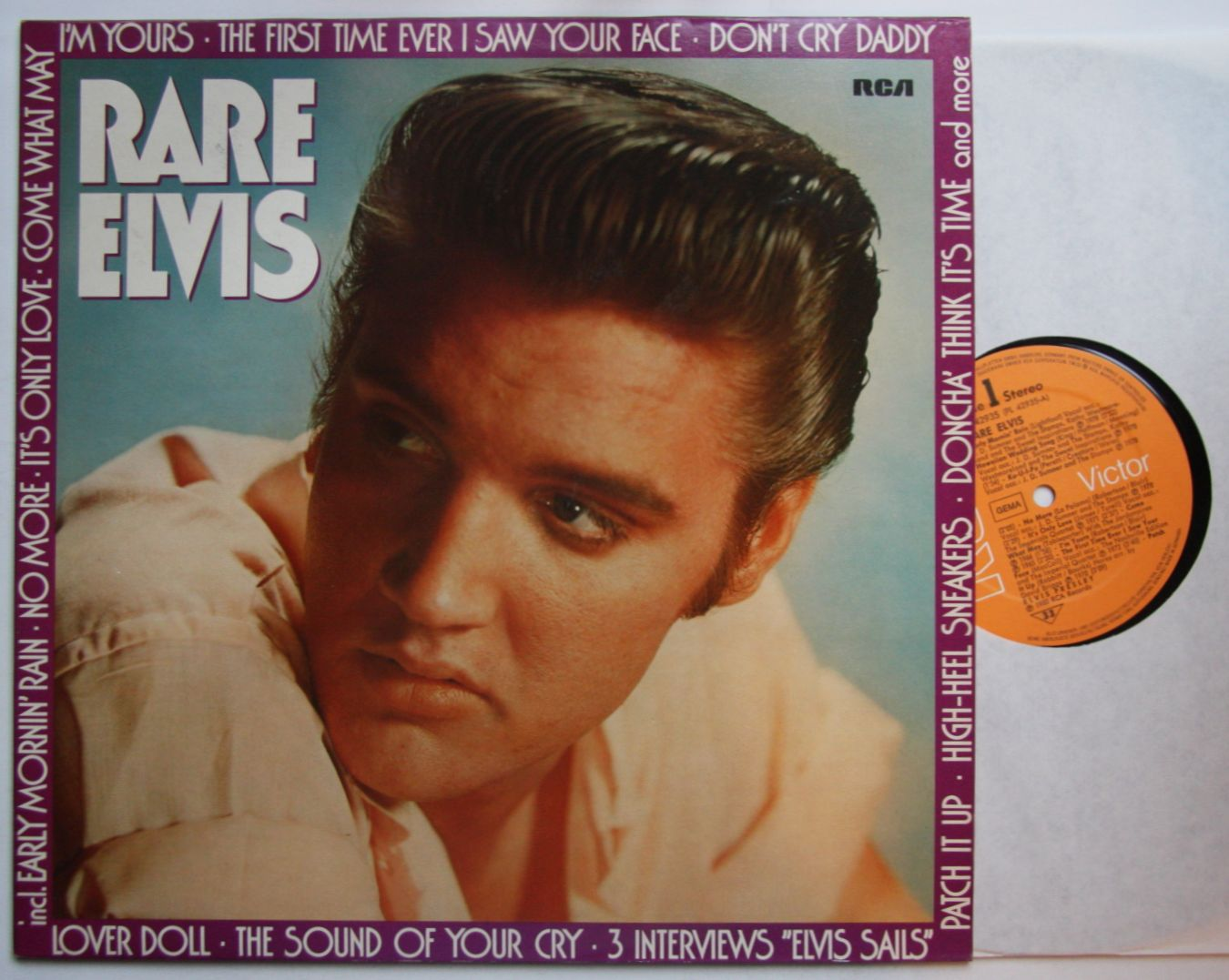 elvis presley rare elvis vol 2 records lps vinyl and. Black Bedroom Furniture Sets. Home Design Ideas