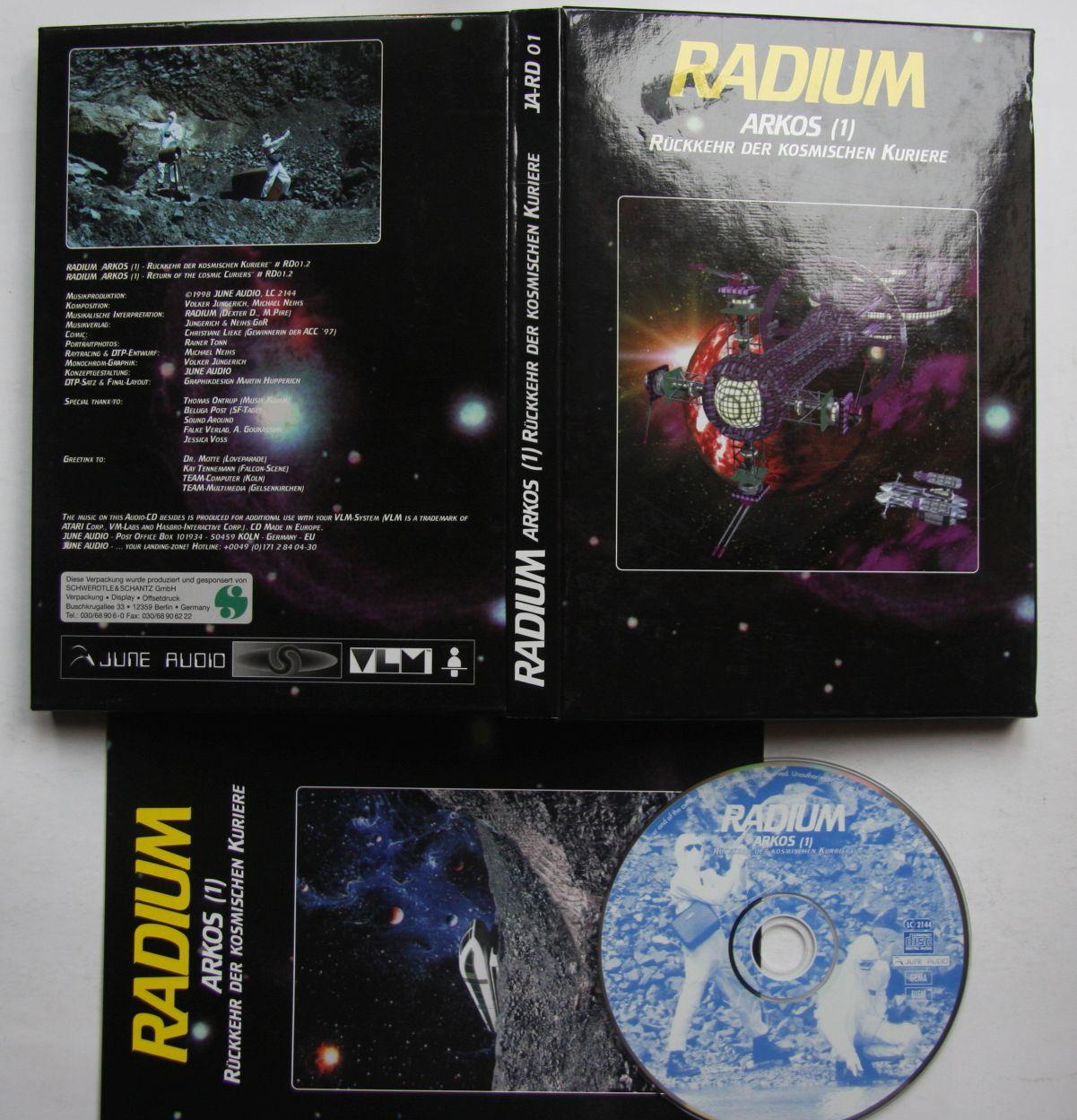 Radium - Arkos Rückkehr Der Kosmischen Kuriere