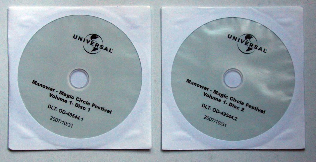 Manowar - Magic Circle Festival Vol.1 Disc1/2