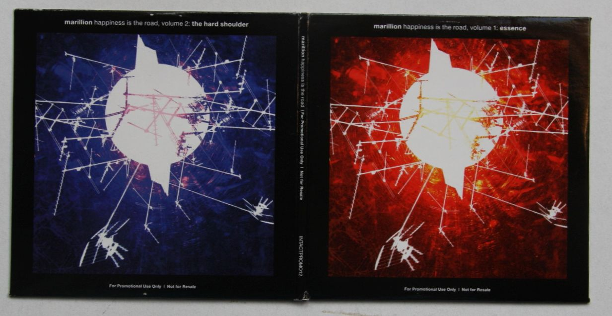 Marillion Happiness Is The Road Records Lps Vinyl And
