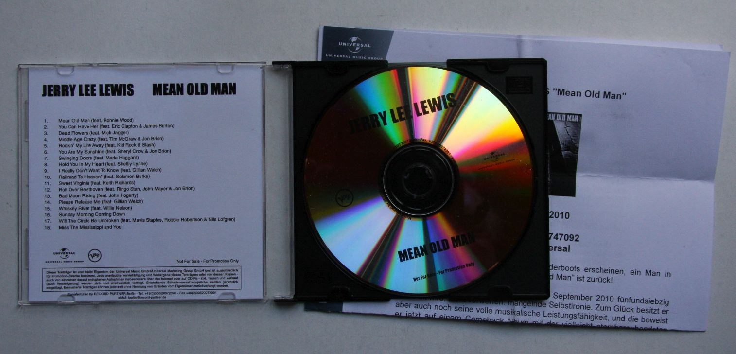 Jerry Lee Lewis - Mean Old Man Album