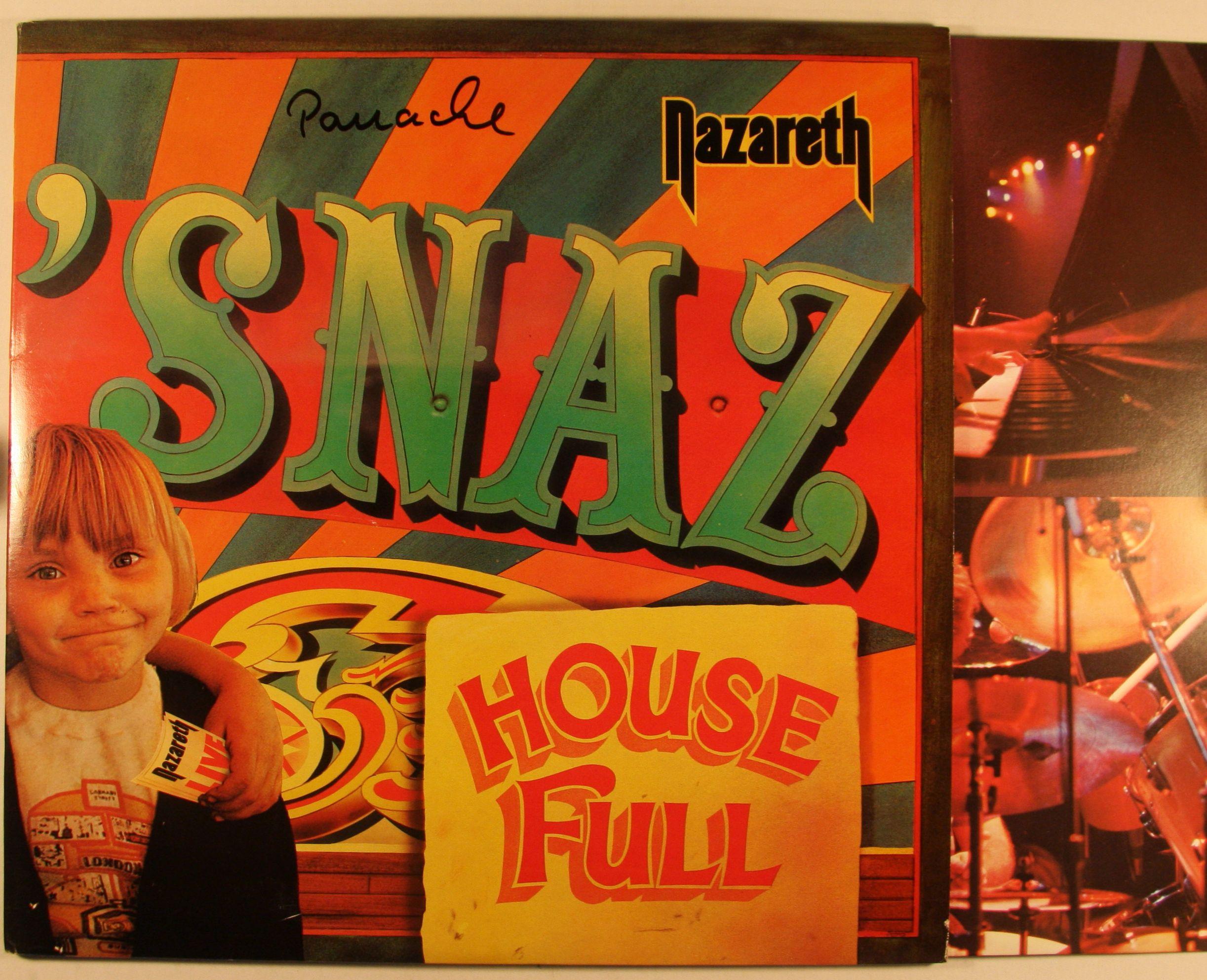 Nazareth Snaz Rare Uk Orig 1981 Nems Neld102 2lp Foc