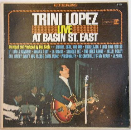 Trini Lopez - Live At Basin St.east