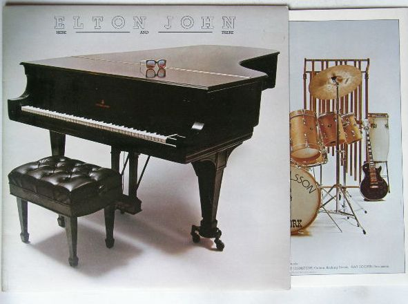 Elton John - Here And There LP