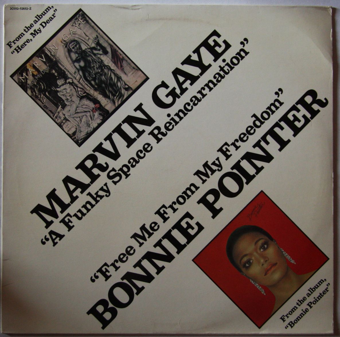 Marvin Gaye -  vinyl records and