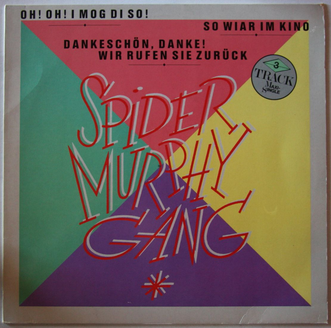 Spider Murphy Gang - Oh! Oh! I Mog Di So!