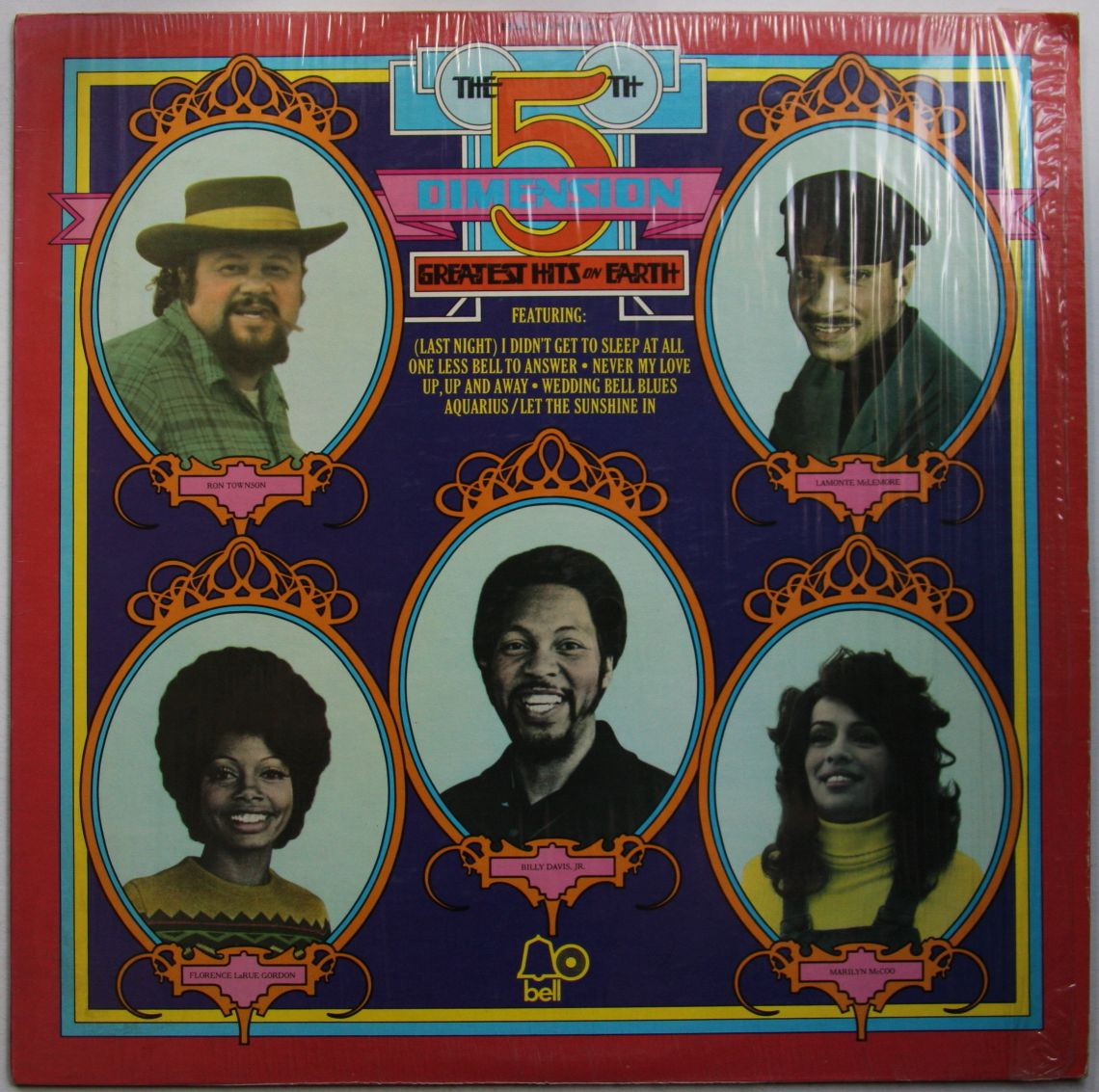 5th Dimension - Greatest Hits On Earth Record