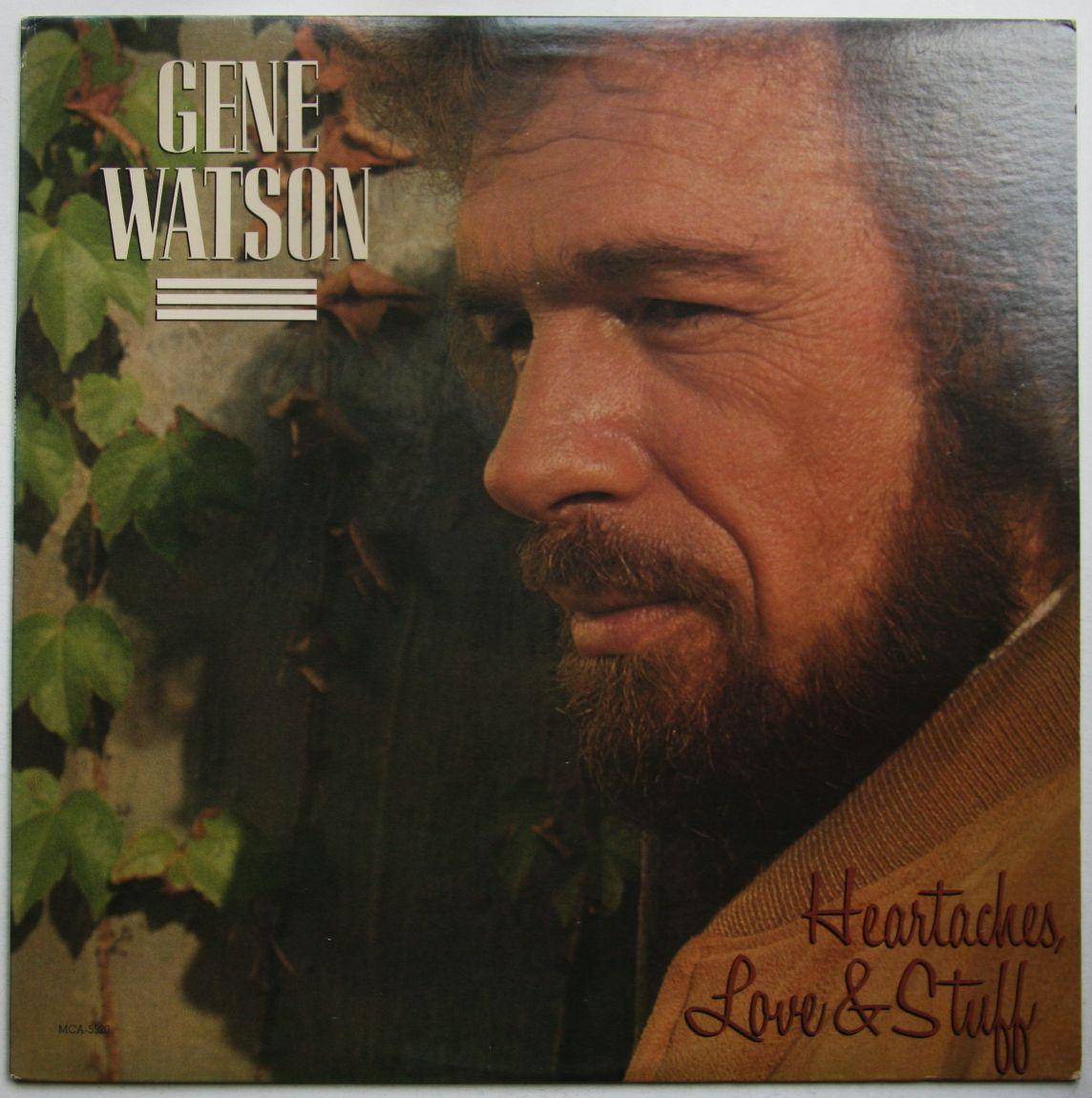 Gene Watson Heartaches Love And Stuff Records Lps Vinyl