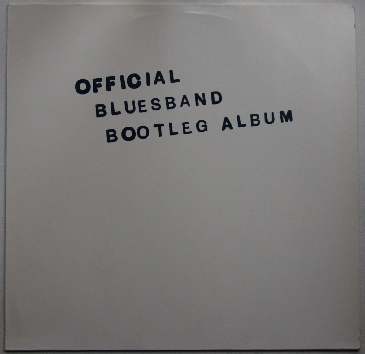 Official Bluesband Bootleg Album - Blues Band