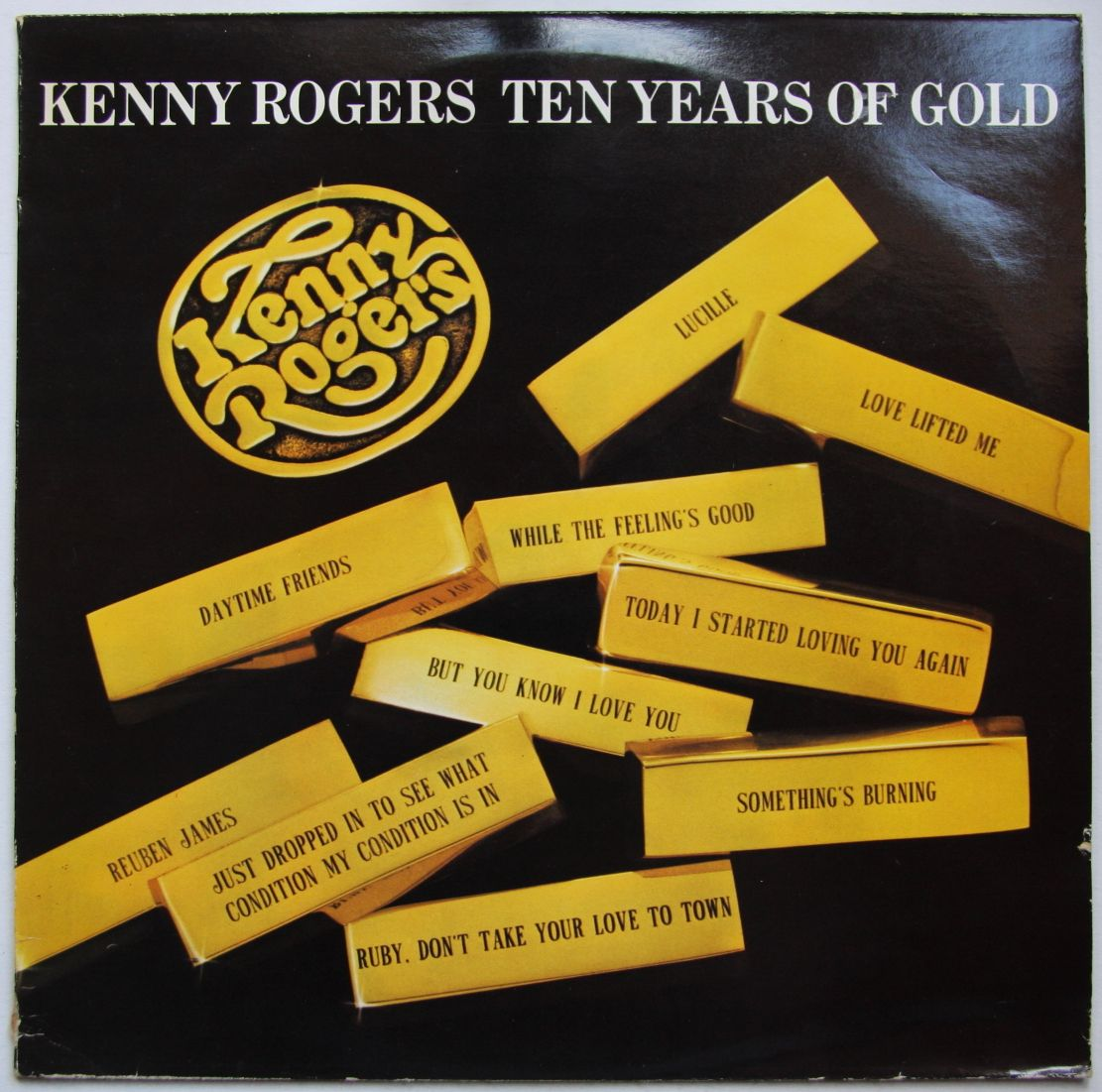 Kenny Rogers - Ten Years Of Gold LP