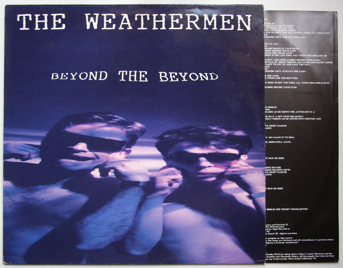 The Weathermen - Embedded With The Weathermen