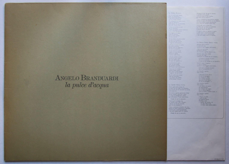 Angelo Branduardi - La Pulce D'acqua CD
