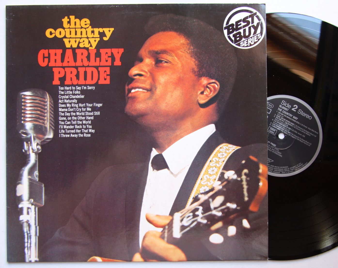 Charley pride country charley pride records lps vinyl and cds charley pride the country way aloadofball Image collections