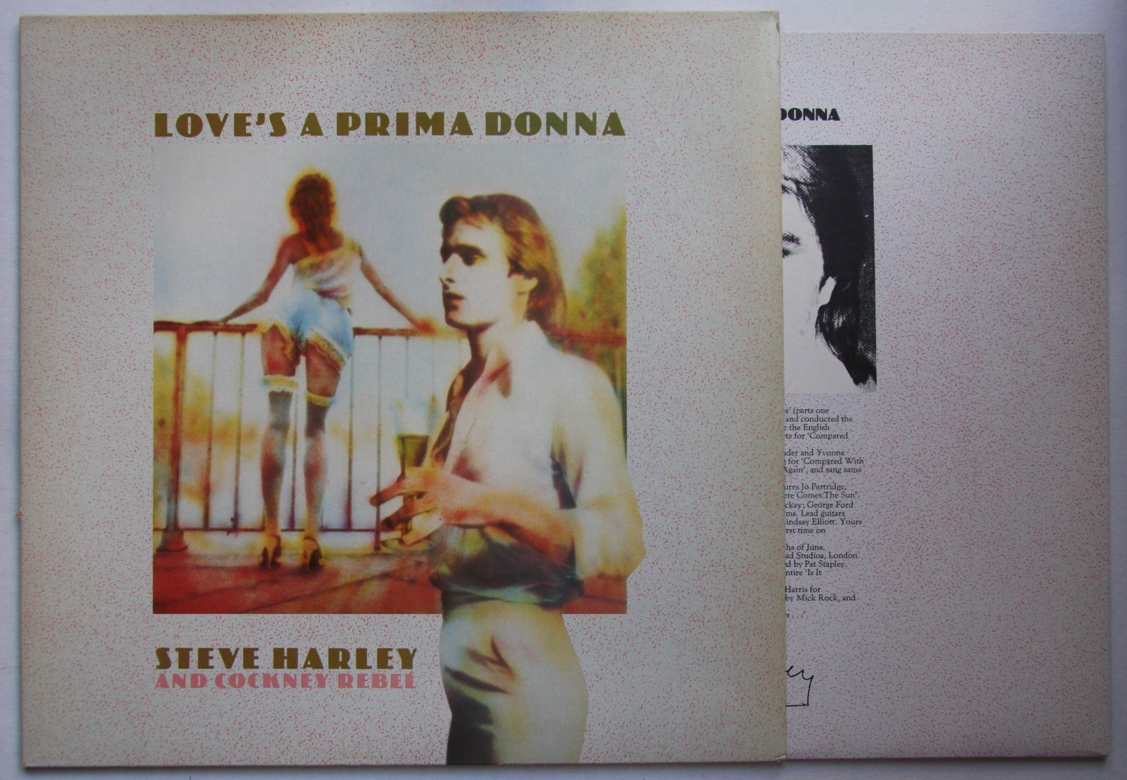 Steve Harley - Love's A Prima Donna Album
