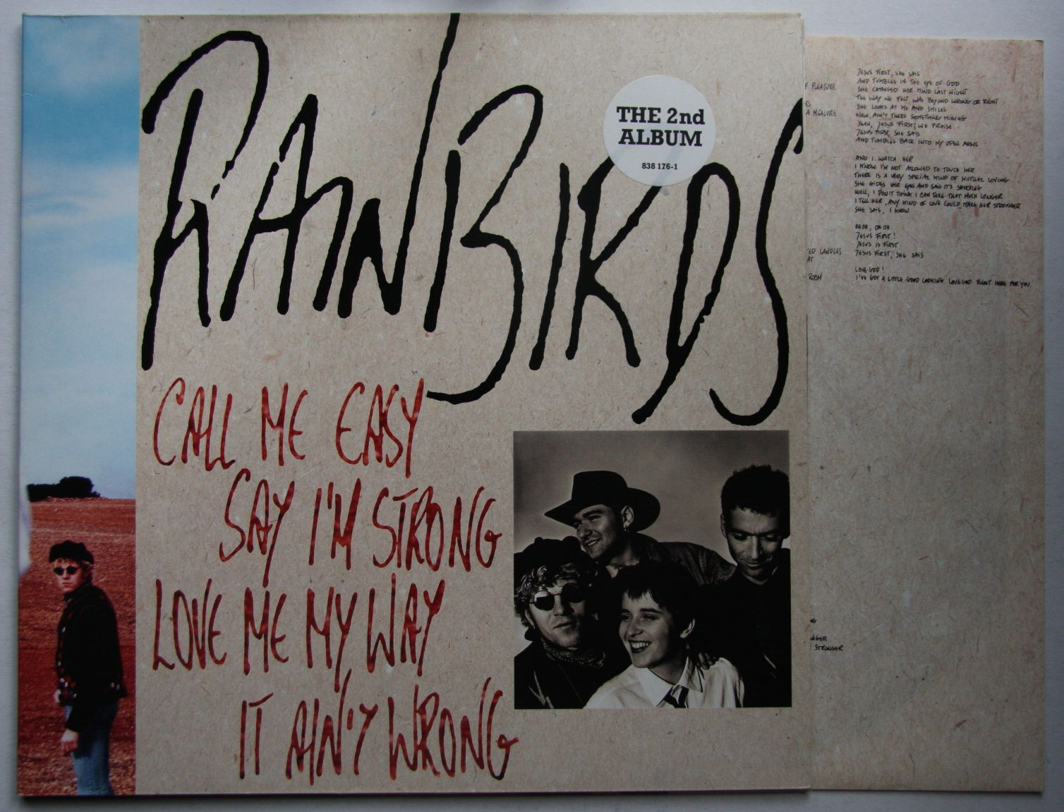 Call Me Easy Say I'm Strong Love Me My Way It Ain't Wrong - Rainbirds