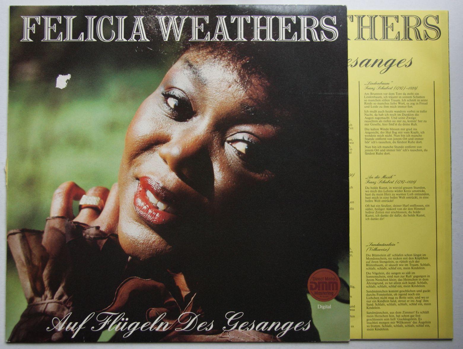 Felicia Weathers Wunderbar Ist Die Welt
