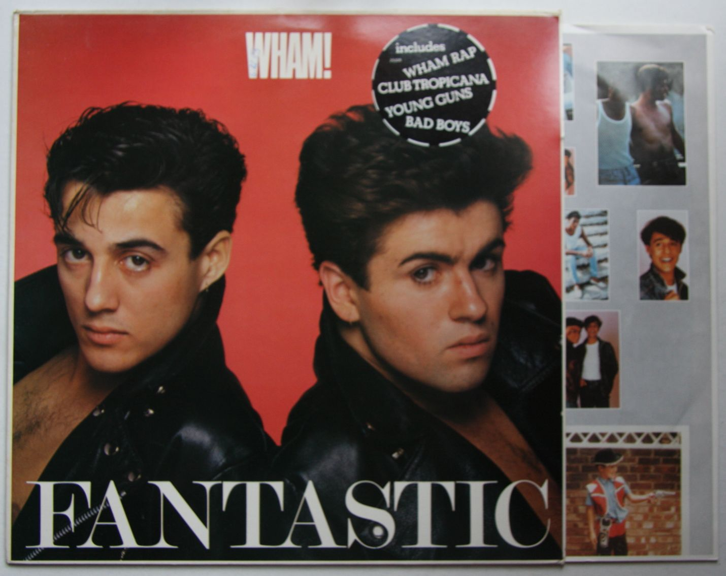 Wham Fantastic Records Lps Vinyl And Cds Musicstack