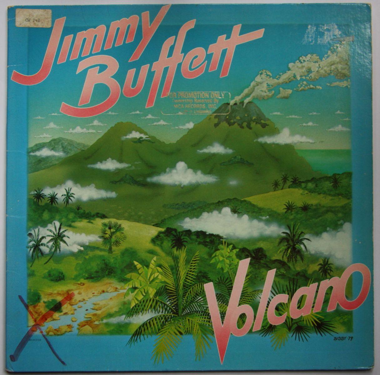 Jimmy Buffett - Volcano LP