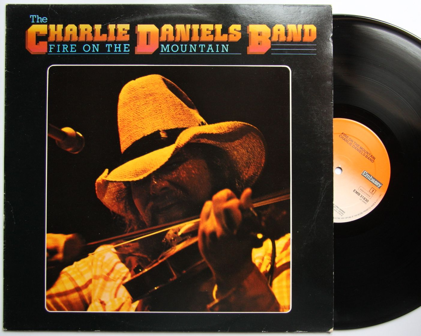 Charlie Daniels Band - Fire On The Mountain Album