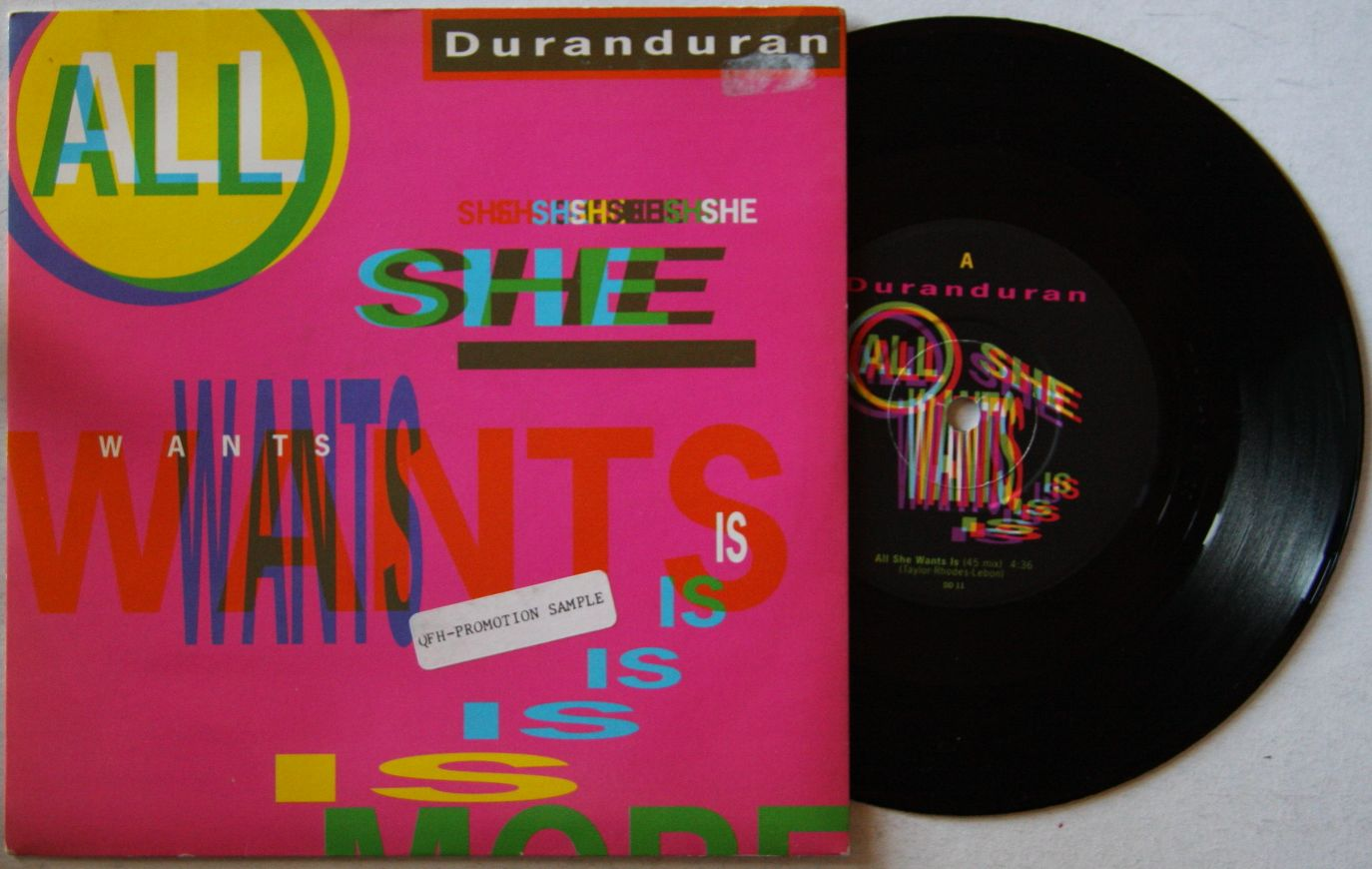 All She Wants - Duran Duran